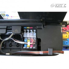 Установка СБПЧ на принтер Epson А3 (4-5 кольоровий)