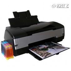 Установка СБПЧ на принтер Epson А3 (6-8 кольоровий)