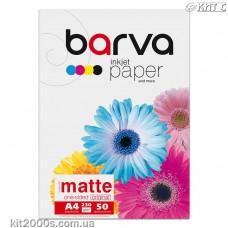 Фотопапір BARVA матовий (IP-A230-022), А4, 50 аркушів