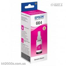 Контейнер Epson T66434A, magenta