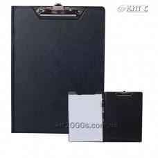 Планшет-папка з кліпом А4 BUROMAX BM.3415-01 ПВХ чорний