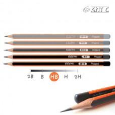 Олівець чорнографітний Maped Blask Peps B, без гумки