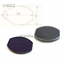 Подушка змінна штемпельна COLOP для Oval55 синя