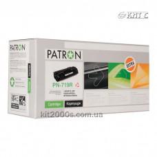 Картридж Canon 719 (PN-719R), PATRON Extra, black