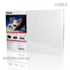 Обкладинка для біндера картон під шкіру A4 230г біла 100л/пач