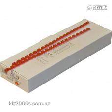 Пружина пластикова 19мм до 150арк червона 100шт/пач