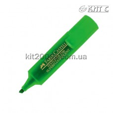 Маркер текстовий Faber-Castell Textliner 1546 Super Fluorescent зелений