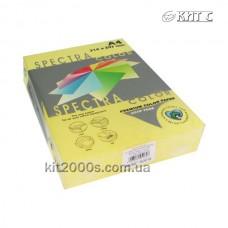 Папір кольоровий А4 80г/м2, 500 арк. Spectra Color 160 Yellow (жовтий)