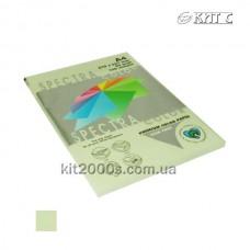 Папір кольоровий А4 80г/м2, 100 арк. Spectra Color 130 Lagoon (світло-зелений)