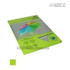 Папір кольоровий А4 80г/м2, 100 арк. Spectra Color 321 Cyber HP Green неон (зелений)