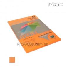 Папір кольоровий А4 80г/м2, 100 арк. Spectra Color 371 Cyber HP Orange неон (помаранчевий)