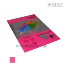 Папір кольоровий А4 80г/м2, 100 арк. Spectra Color 350 Cyber HP Red неон (малиновий)
