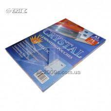 Плівка для ламінування А3 (303х426) 2х75мк глянцева, антистатична 100л/пач