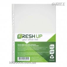 Файл прозорий А4+ (100 шт) 30мкм Fresh FR-20-30 Україна