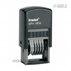 Мінінумератор 3,8 мм 6-розрядний Trodat 4836