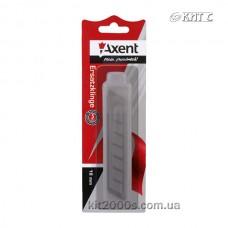 Леза до ножа великого 18мм, 10шт/уп, Axent