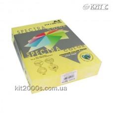 Папір кольоровий А4 75г/м2, 500 арк. Spectra Color 160 Yellow (жовтий)
