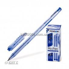 Ручка кулькова Pensan 2002 My-Pen Vision оригінал 1мм синя
