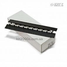 Пластини для палітурних робіт Press-Binder 7,5мм чорні, 50шт/пач