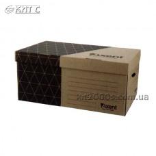 Бокс-короб для архівних боксів 560х365х265мм AXENT 1734-00-A КРАФТ, Україна