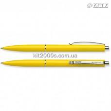 Ручка кулькова автоматична Schneider S93085 К15 сині чорнила, корпус жовтий