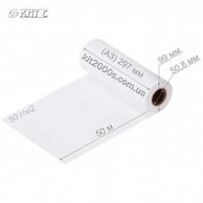 Папір для плотерів рулонний 297мм x 50м (2'') 80г/м2
