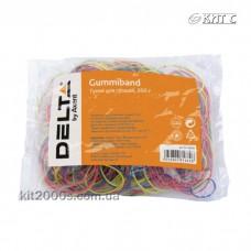 Резинки для упаковки грошей 200г Delta D4621 d60мм