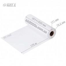 Папір для плотерів рулонний 620мм x 175м (3'') 80г/м2