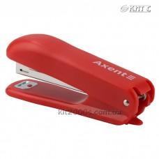 Степлер №10 Axent Standard 4222-06-A пластиковий, 15 аркушів, червоний