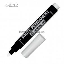 Маркер перманентний Centropen Permanent White 8586 2,5мм білий