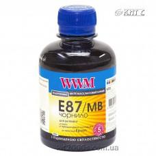 Чорнило Epson для Stylus Photo R1900 / R2000, WWM, 200 г., Matte Black, (E87/MB)