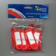Брелок - ідентифікатор для ключей Eagle TY901/25A червоний