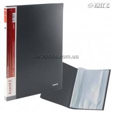Папка з файлами A4 30 файлів AXENT 1030-03-A сіра