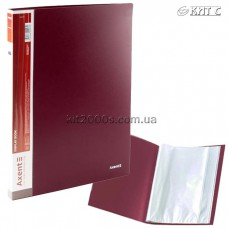 Папка з файлами A4 30 файлів AXENT 1030-04-A бордова