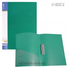 Папка з притиском + кишеня А4 пластик Economix 31202-04 зелена