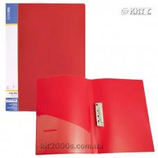 Папка з притиском + кишеня А4 пластик Economix 31202-03 червона