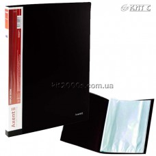 Папка з файлами A4 40 файлів AXENT 1040-01-A чорна
