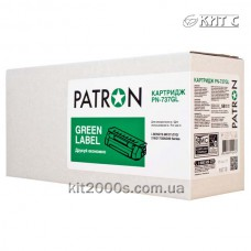 Картридж Canon 737 (PN-737GL), PATRON GREEN Label, black