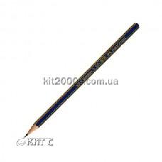 Олівець чорнографітний Faber-Castell 1221 H «GOLDFABER»