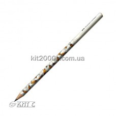 Олівець чорнографітний Faber-Castell В мотив «Бджола» тригранний
