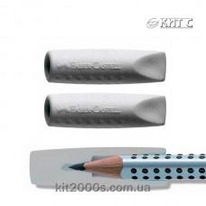 Гумка Faber-Castell 2ковпачка для олівця